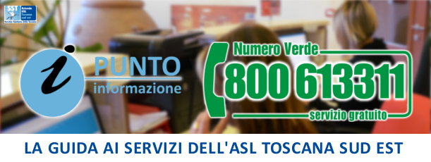 Punto Informazione - La guida ai servizi dell'Azienda Usl Toscana sud est